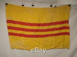 Flag1454 Vietnam Rvn Pays National Drapeau Sud-41x30 Imprimé W10e Coton
