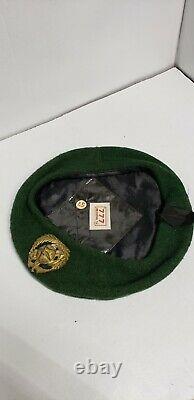 Le Béret Vert Sud-vietnamien De Guerre Du Vietnam De Guerre Du Vietnam Avec La Goupille De Médaille