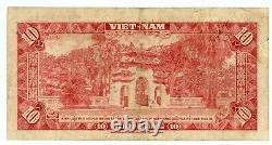 Le Sud-vietnam. P-5a. 10 Dong. Nd (1962). F+ Remplacement-rare