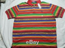 Lot De Vintage Polo Ralph Lauren T-shirt Tribal Du Sud-ouest Indien Aztèque 2xl
