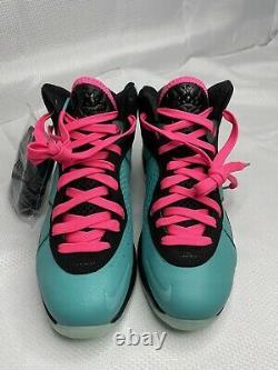 Neuf Nike Lebron 8 South Beach (2021) Hommes Taille 7 Cz0328-400 Rétro Rose Lbj