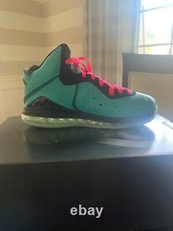 Neuf Nike Lebron 8 South Beach 2021 Taille Homme 9 Cz0328-400