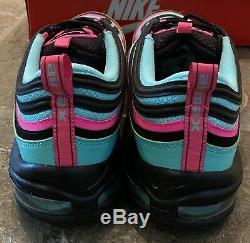 Nib Nike Air Max 97 Retro Hyper Turquoise South Beach Taille Mens 13 Cu4877-300