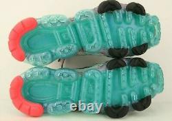 Nike Air Aj6910-500 Vapormax Flyknit 3 South Beach Pink Teal Sneaker Femmes Us 12