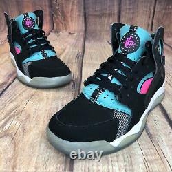 Nike Air Flight Huarache South Beach Homme Taille 8 Chaussures De Sport 795005-003 Nouveau