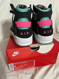 Nike Air Flight Huarache South Beach Spurs Fiesta Hommes Taille 9 795005-003 Nib