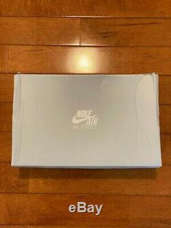 Nike Air Force 1 Low Corée Du Sud White Tiger Cw3919-100 Nouveau Taille 7 Hommes 8.5w