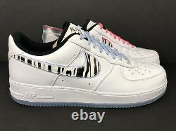 Nike Air Force 1 Low'south Korea' Af-1 Ice Blue Pink Cw3919-100 Taille 11