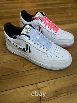 Nike Air Force 1 Tigre Blanc Faible' Corée Du Sud Tailles Hommes 9,5 10,5 Cw3919-100