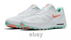 Nike Air Max 1 G Golf Pastèque, South Beach Hot Lava Ci7576-103 Hommes Sz 14