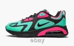 Nike Air Max 200 Sp South Beach Taille 10.5 Cu4900-300 Hommes Turquoise/pink-noir