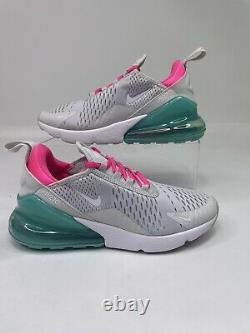 Nike Air Max 270 Chaussures De Course White South Beach Ah6789-065 Taille Femme 6.5