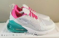 Nike Air Max 270 Chaussures De Course White South Beach Ah6789-065 Taille Femme 7,5