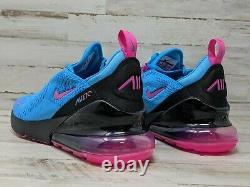 Nike Air Max 270 Gs South Beach Bleu Fuchsia Bv6376 400 Taille 4 Y Femmes 5.5 Gym