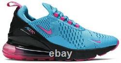 Nike Air Max 270 Gs South Beach Blue Fuchsia Bv6376 400 Taille 4y (femmes 5,5)