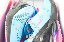 Nike Air Max 270 Hommes Taille 11 Chaussures Bv6078 400 Miami South Beach Fuschia
