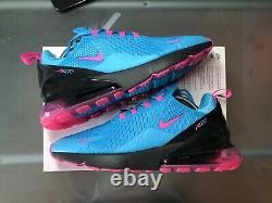 Nike Air Max 270 Miami South Beach Fuschia Hommes Chaussures Sz 10 Fast Ship Bv6078 400
