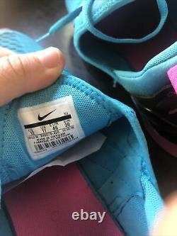 Nike Air Max 270 South Beach Blue Fury Laser Fuchsia Sz 12