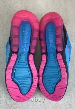 Nike Air Max 270 South Beach Blue Fury Laser Fuchsia Sz 14 Chaussures Bv6078-400