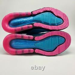 Nike Air Max 270 South Beach Mens Sz 15 Blue Fury Fuchsia Shoes Bv6078 400 Nouveau