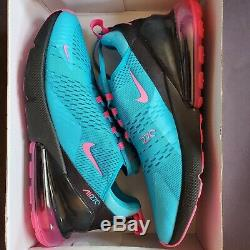 Nike Air Max 270 South Beach Miami Heat Vice Nights Bv6078 400 Taille Homme 11.5
