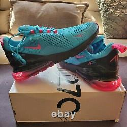Nike Air Max 270 South Beach Miami Heat Vice Nights Bv6078 400 Taille Homme 12