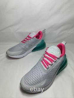 Nike Air Max 270 South Beach Taille Femme 7,5 Pr Pltnm/wht-pnk Blst Ah6789 065