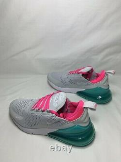 Nike Air Max 270 South Beach Taille Femme 7 Pr Pltnm/wht-pnk Blst Ah6789 065