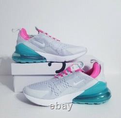 Nike Air Max 270'south Beach' Taille Femme 9/taille Homme 7.5 Ah6789-065 Nouveau