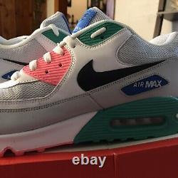 Nike Air Max 90 Essential Plage Pastèque / Sud Taille 14, Aj1285-100 Brand New