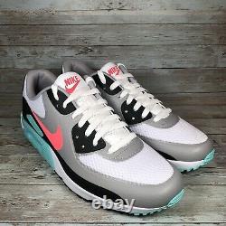 Nike Air Max 90 G Chaussures De Golf White Hot Punch South Beach Cu9978-133 Hommes Sz 10