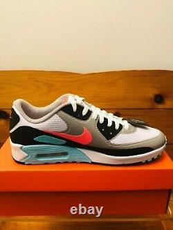 Nike Air Max 90 G South Beach Chaussures De Golf Pour Hommes Sz (8-12) Cu9978-133 Nouveau