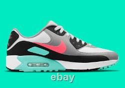 Nike Air Max 90 G South Beach Chaussures De Golf Spikeless Tailles Hommes 11-13 Cu9978-133