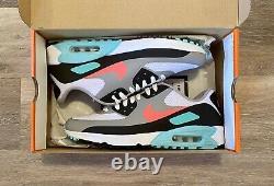 Nike Air Max 90 G'south Beach' Hot Punch Blanc Chaussures De Golf Cu9978-133 Hommes 10,5