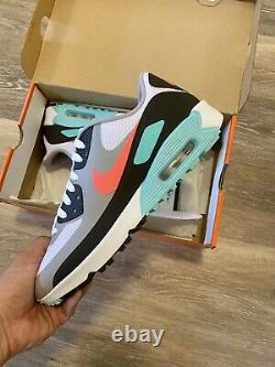 Nike Air Max 90 G'south Beach' Hot Punch Blanc Chaussures De Golf Cu9978-133 Hommes 13