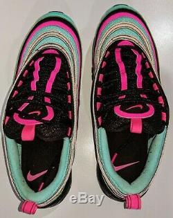 Nike Air Max 97 Alternate South Beach Cu4877-300 Running Shoes Taille 8.5 Utilisé