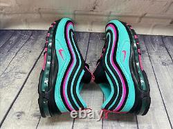 Nike Air Max 97 Chaussures South Beach Run Vert Rose Cu4877-300 Taille Mens 11.5 Nouveau