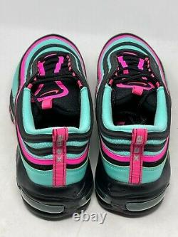 Nike Air Max 97 Cu4877 300 Taille 14 No Box Top Hyper Turquoise Pink South Beach