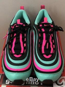 Nike Air Max 97 Hyper Turquoise Cu4877-400 Hommes Taille 13 South Beach Course À Pied