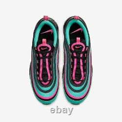 Nike Air Max 97 South Beach Alternative Cu4877 300 Taille 10 Rose Turquoise Blk