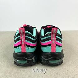 Nike Air Max 97 South Beach Miami Vice Turquoise Rose Cu4877-300 Hommes Taille 10.5