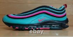 Nike Air Max 97 Taille 9.5 South Beach Miami Vice Turquoise Rose Cu4877-300