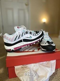 Nike Air Max 98 Chaussures Femmes South Beach Sz 10 95 97 Ah6799-065 Vapormax 98