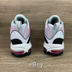 Nike Air Max 98 South Beach Blanc Noir Rose Vert Chaussures Femme Sz 8,5 Ah6799-065