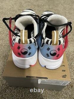Nike Air Presto Corée Du Sud Noir Blanc S Hommes 7-9 Femmes 8,5-10,5 Nouveau! Cj1229-100 Cj1229-100