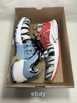 Nike Air Presto Corée Du Sud Taille Homme Grand (11-13) Wht/mtllc Gold Cj1229 100