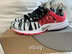 Nike Air Presto Rouge Orbit Corée Du Sud Us 79 Sneakers Authentiques Cj1229-100 Chaussures