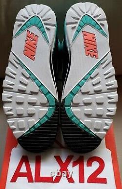 Nike Air Trainer Sc Rétro Bo Jackson South Beach Teal Pink 302346-300 Taille 12