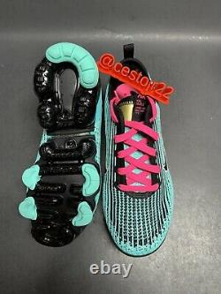 Nike Air Vapor Max Flyknit 3 Gs Bq5238 300 South Beach Sz 5 Y / Femmes 6,5