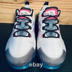 Nike Air Vapormax 2019 South Beach Femme Taille 8 Pink Blast Turqouise Nouveau